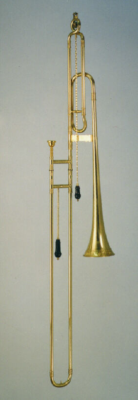 bass sackbut in Eb and D or in F model Ehe
