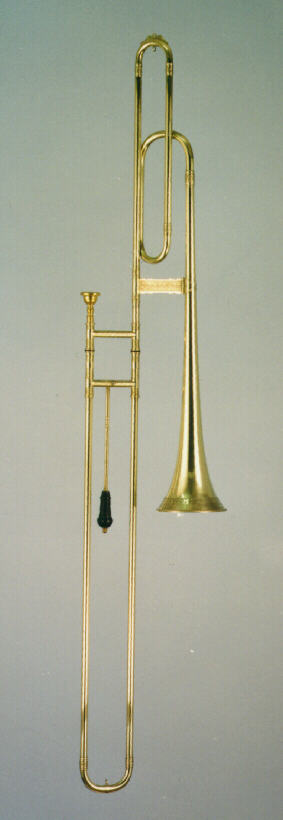 Bass sackbut model in F or Eb Hainlein